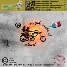 Stickers autocollant V logo motard Ducati