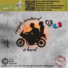 Stickers autocollant Couple...