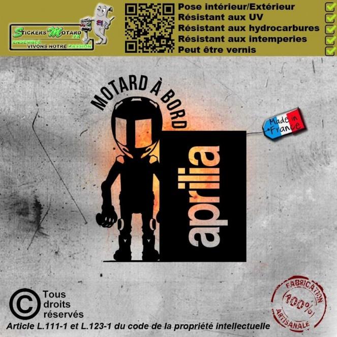 Stickers autocollant Femme fatale à bord