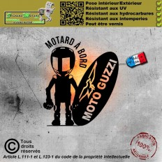 Stickers autocollant Nissin