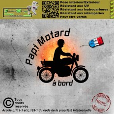 Stickers autocollant Michelin