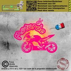 Stickers autocollant Logo Suzuki GSXR